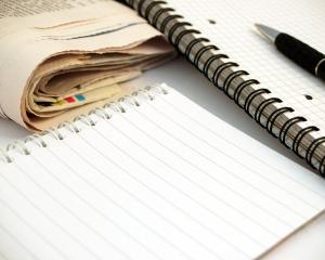 Notebood & pen