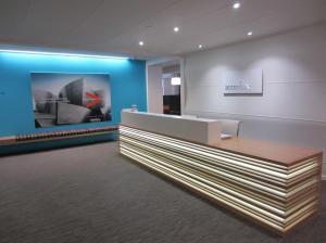 Accenture Tower reception