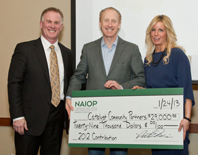 NAIOP donation - Catalyst Community Partners
