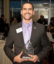 Gabe Philibert wins Diversity Award