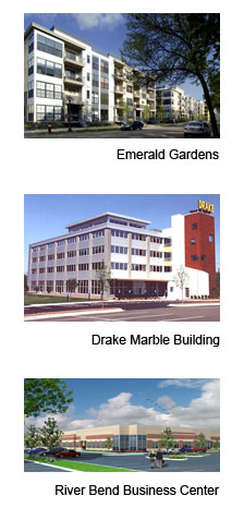 Emerald Gardens-Drake Marble-River Bend Business Center