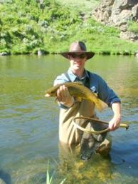 Fly fishing - Joe Boone