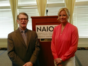 Chief Economist Stuart Hoffman of PNC and NAIOP MN's Vice President Sonja Dusil of Cushman & Wakefield | NorthMarq