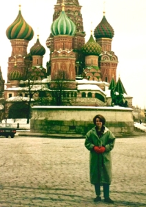 A quick sightseeing break while working in Moscow in 1994